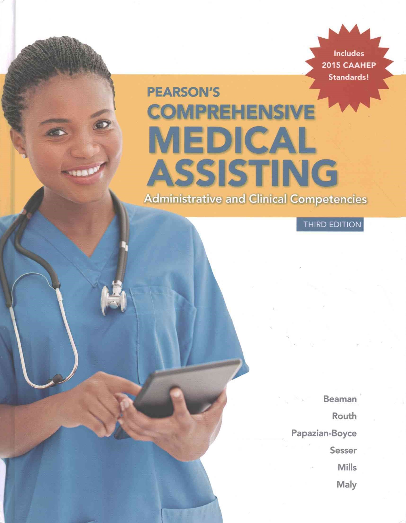 Pearson's Comprehensive Medical Assisting, MyHealthProfessionsLab with Pearson EText and Access Car