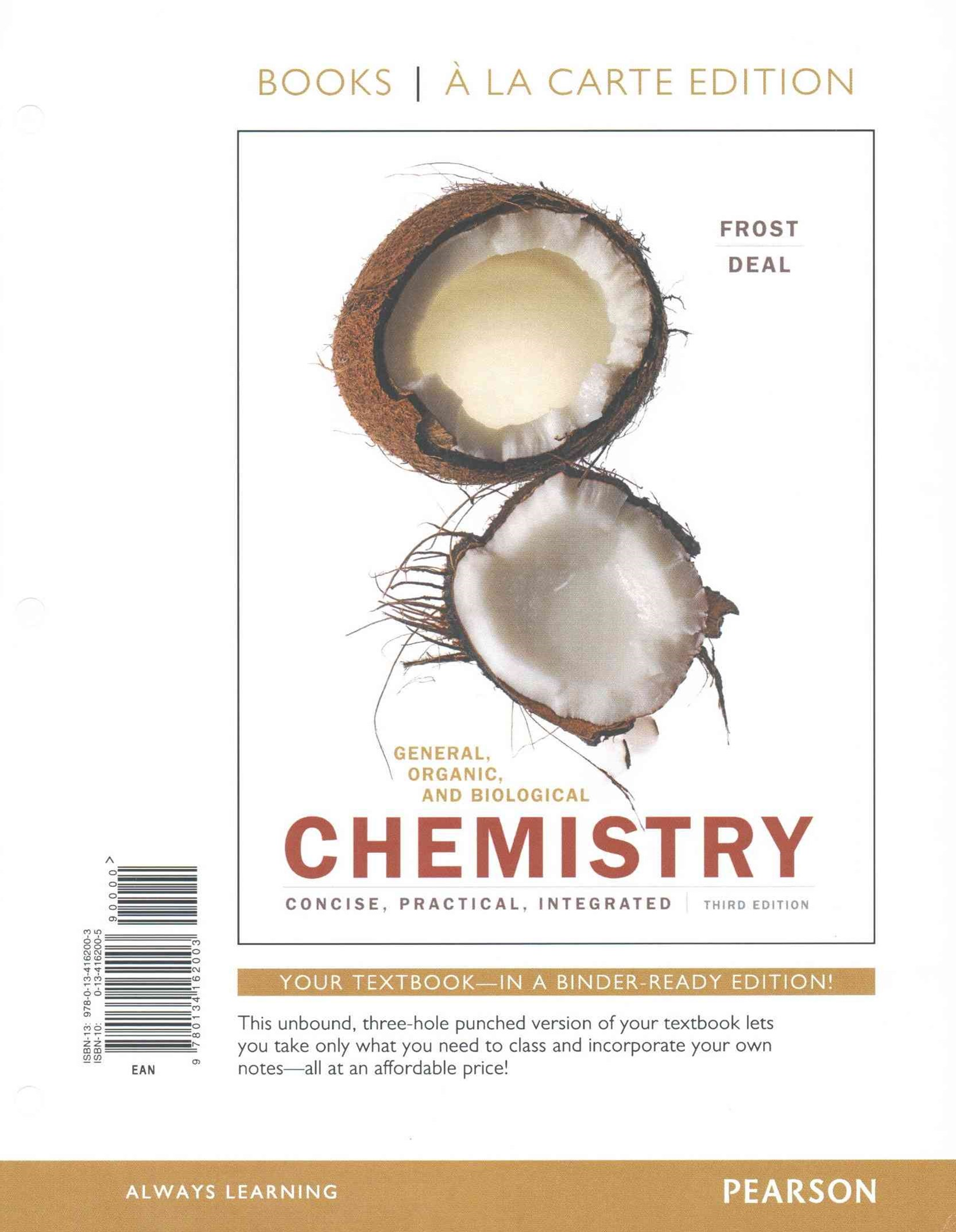 General, Organic, and Biological Chemistry, Books a la Carte Plus MasteringChemistry with EText -- Access Card Package