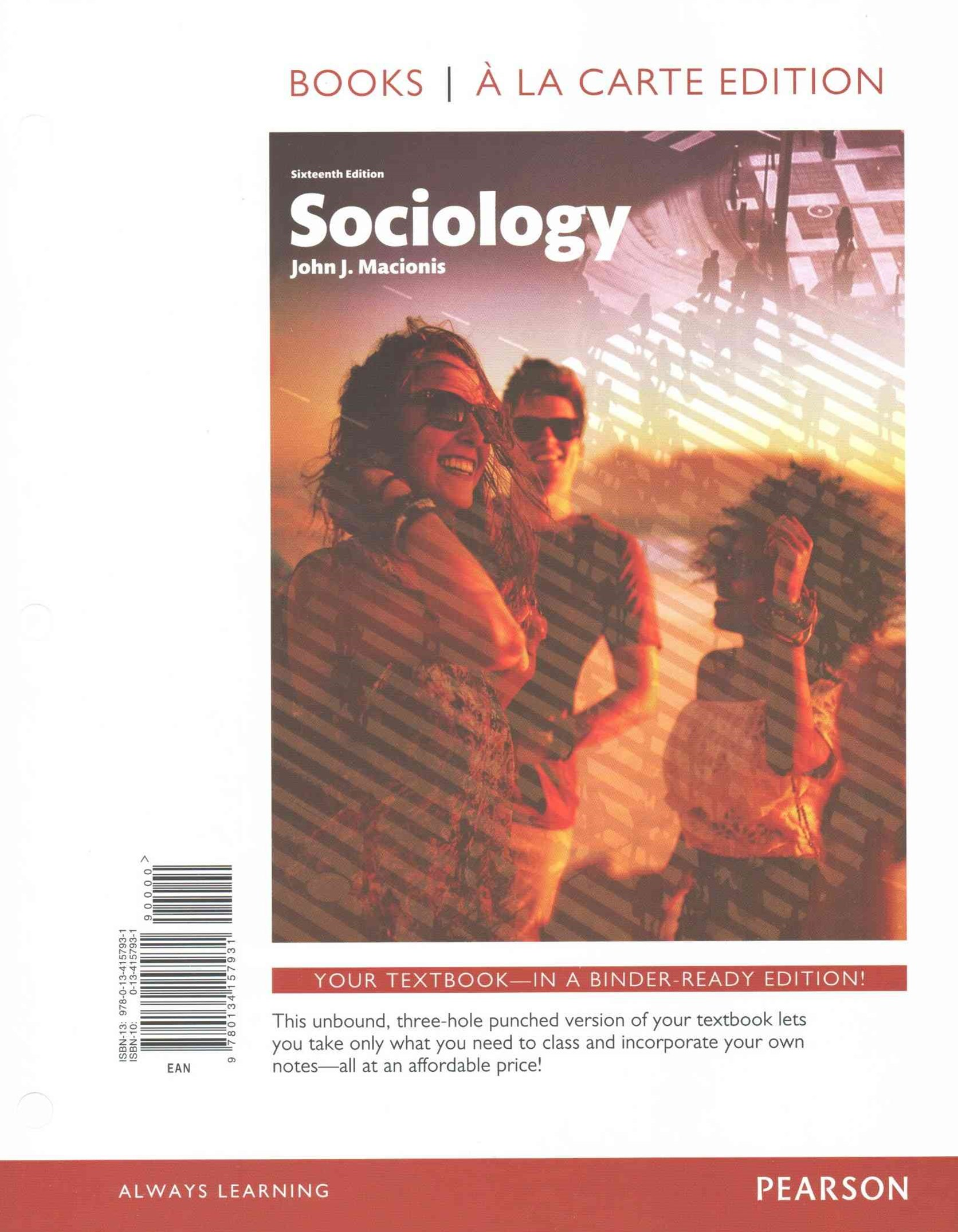 Sociology, Books a la Carte Edition Plus NEW MySociologyLab for Introduction to Sociology -- Access