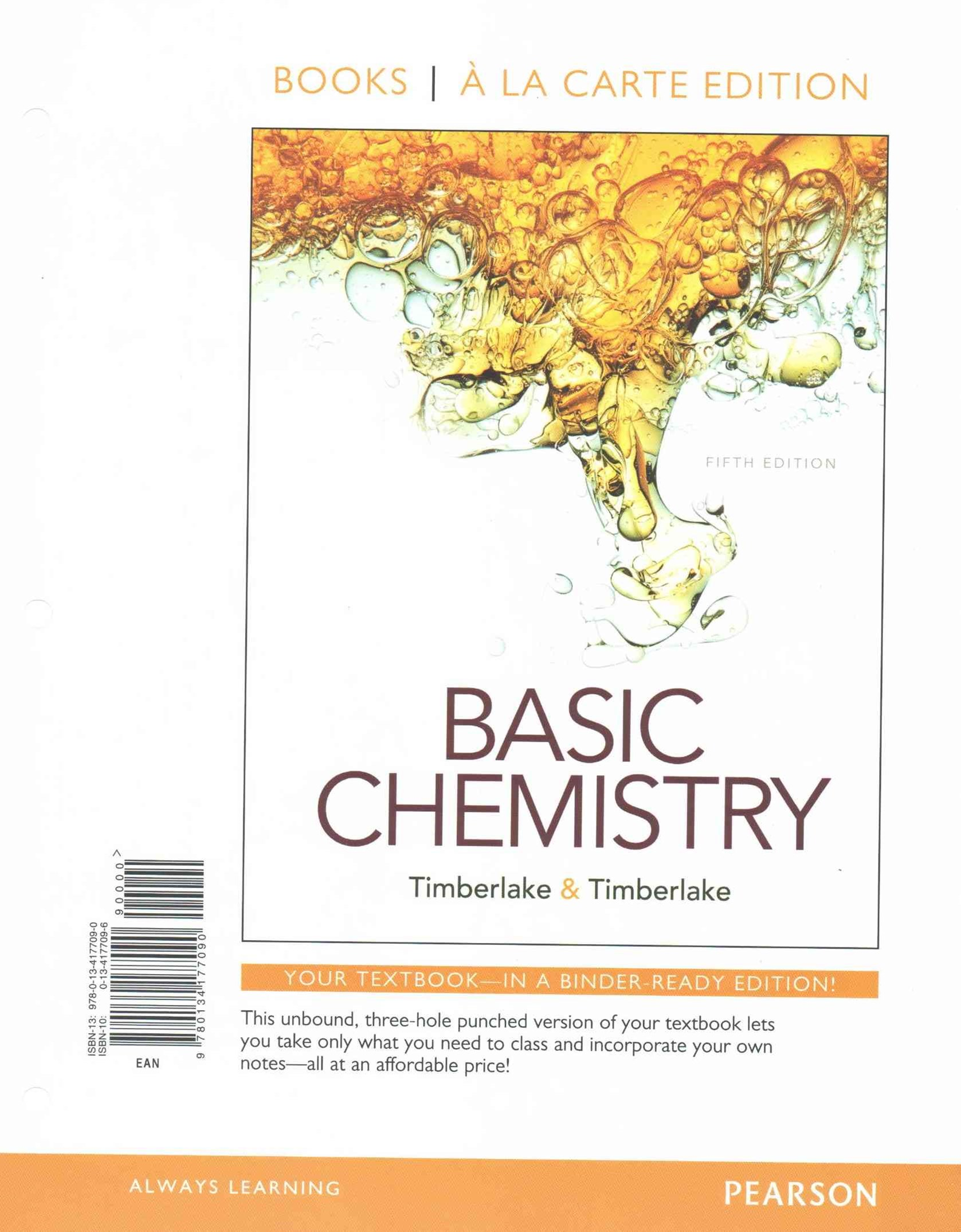 Basic Chemistry, Books a la Carte Plus MasteringChemistry with EText -- Access Card Package