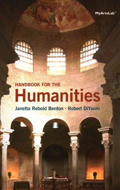 A Handbook for the Humanities; NEW MyArtsLab with Pearson EText -- Valuepack Access Card; Beginner