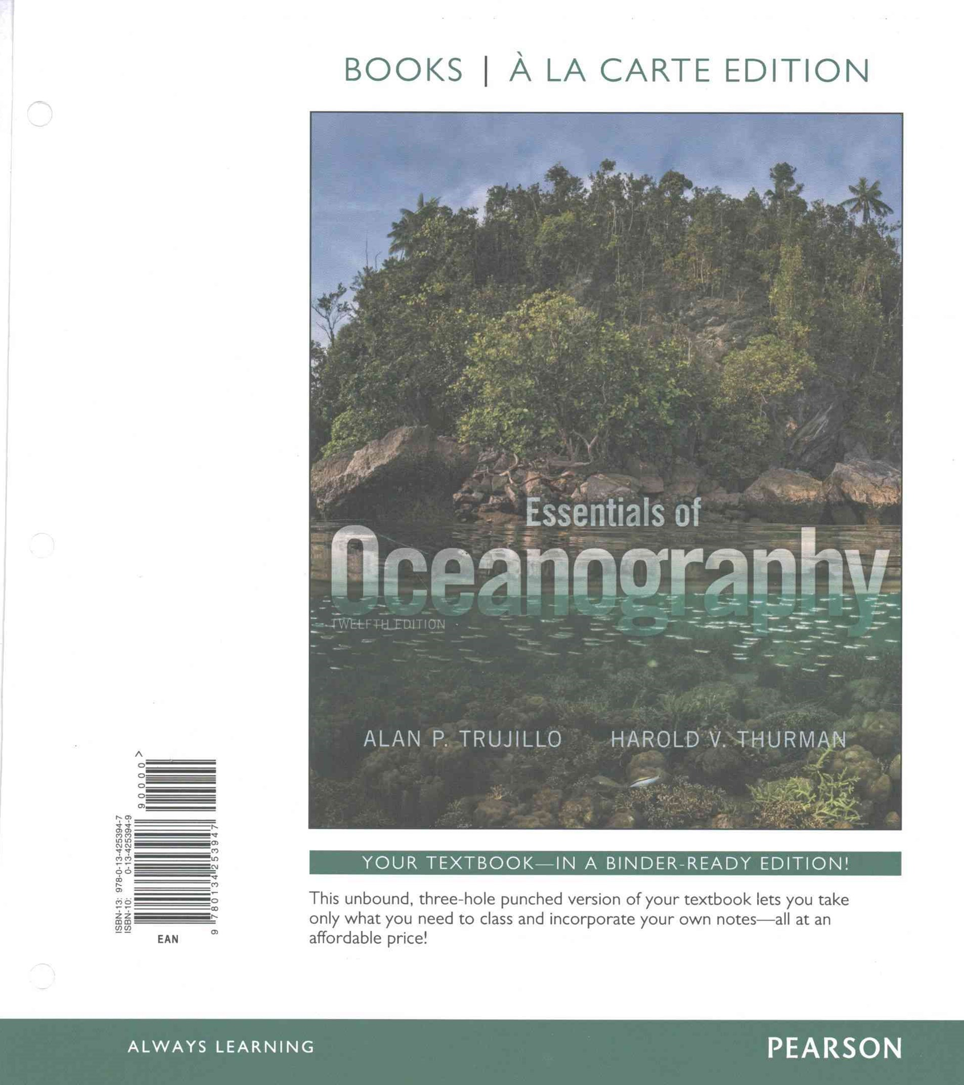 Essentials of Oceanography, Books a la Carte Plus MasteringOceanography with EText -- Access Card P