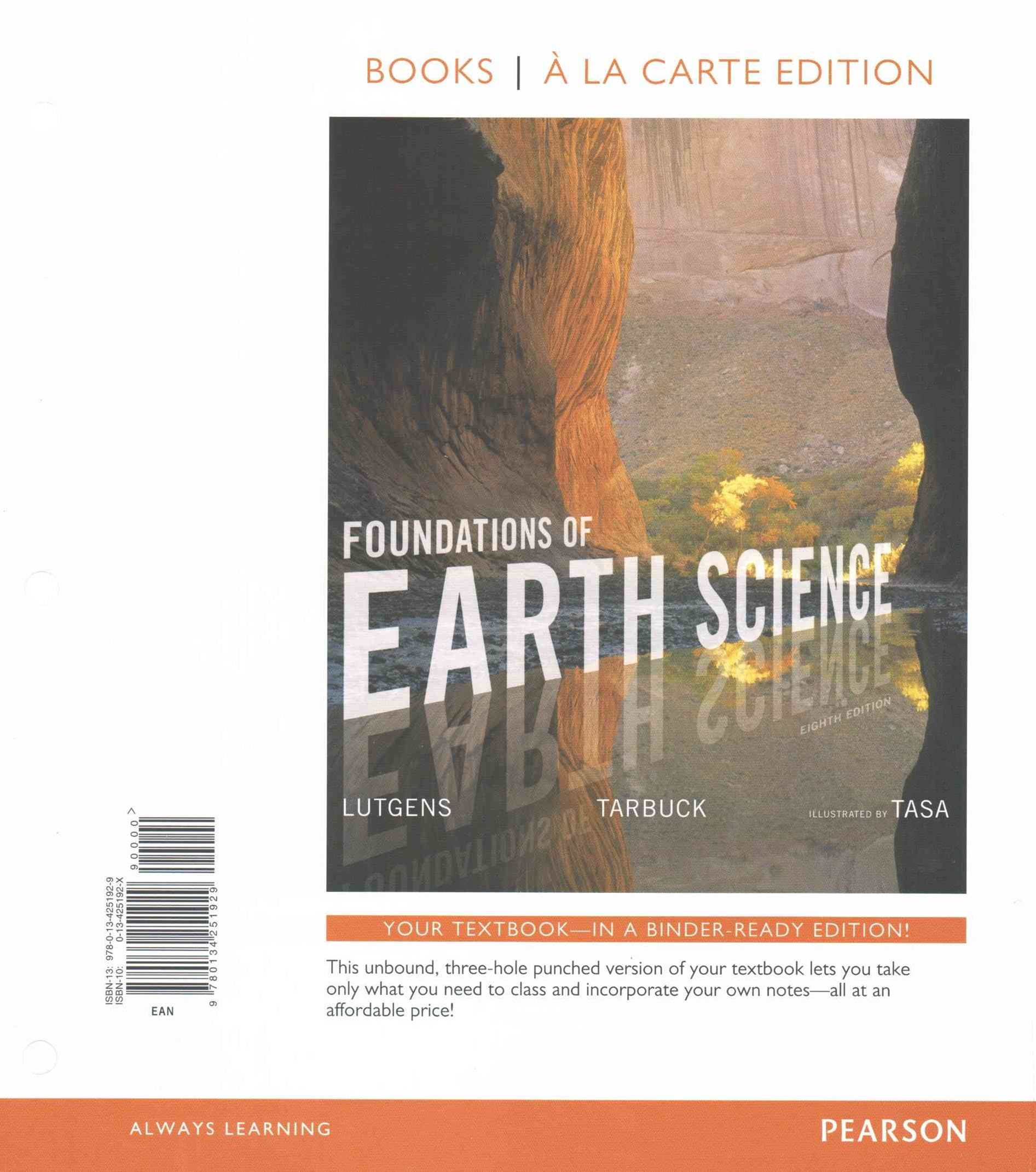 Foundations of Earth Science, Books a la Carte Plus MasteringGeology with EText -- Access Card Pack