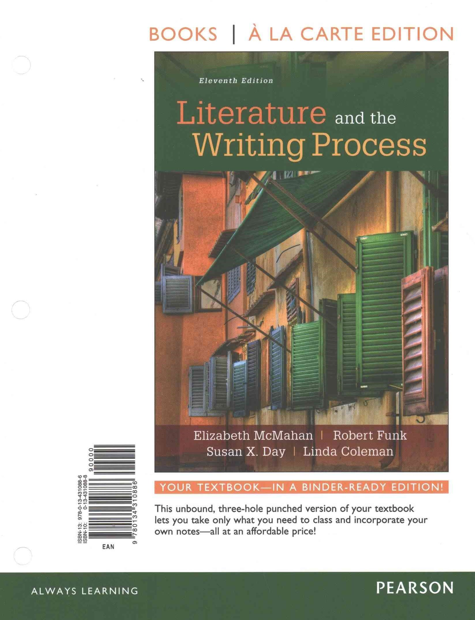 Literature and the Writing Process, Books a la Carte Plus REVEL -- Access Card Package