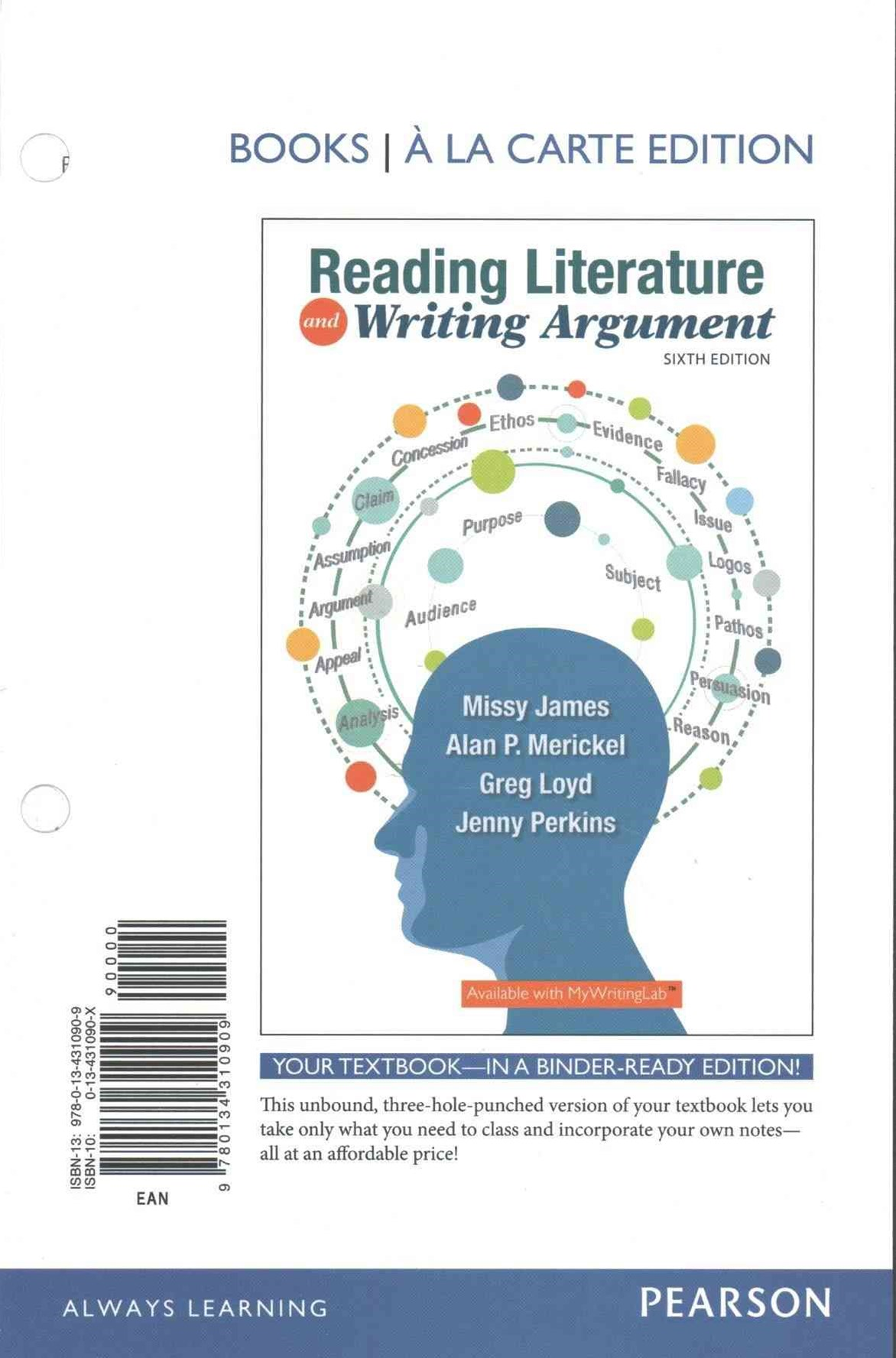 Reading Literature and Writing Argument, Books a la Carte Plus REVEL -- Access Card Package