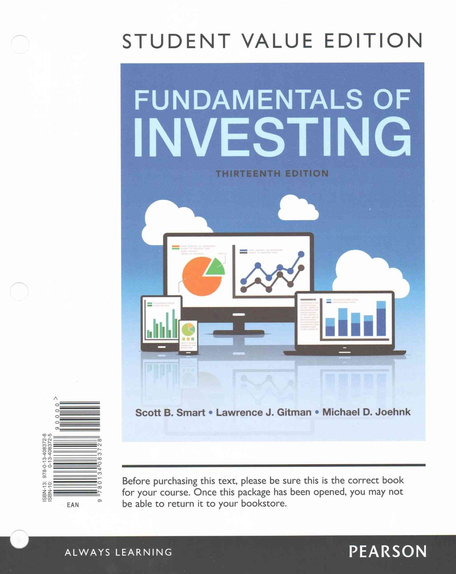 Fundamentals of Investing, Student Value Edition Plus MyFinanceLab with Pearson EText -- Access Car