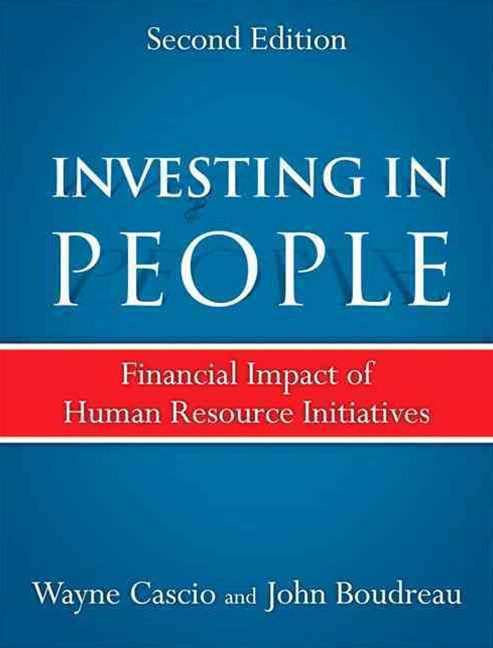Investing in People: Financial Impact of Human Resource Initiatives