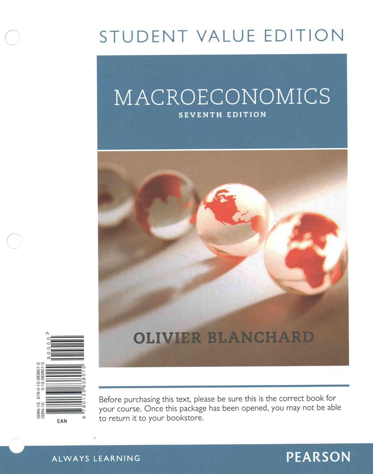 Macroeconomics, Student Value Edition Plus MyEconLab with Pearson EText -- Access Card Package