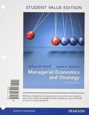 Managerial Economics and Strategy, Student Value Edition Plus MyEconLab with Pearson EText -- Access Card Package