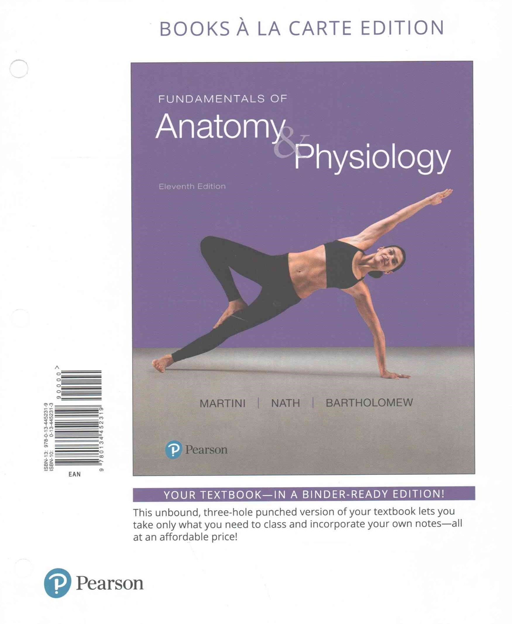Fundamentals of Anatomy and Physiology, Books a la Carte Plus MasteringA&P with EText -- Access Car