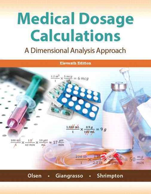 Medical Dosage Calculations Plus MyNursingLab with Pearson EText -- Access Card Package