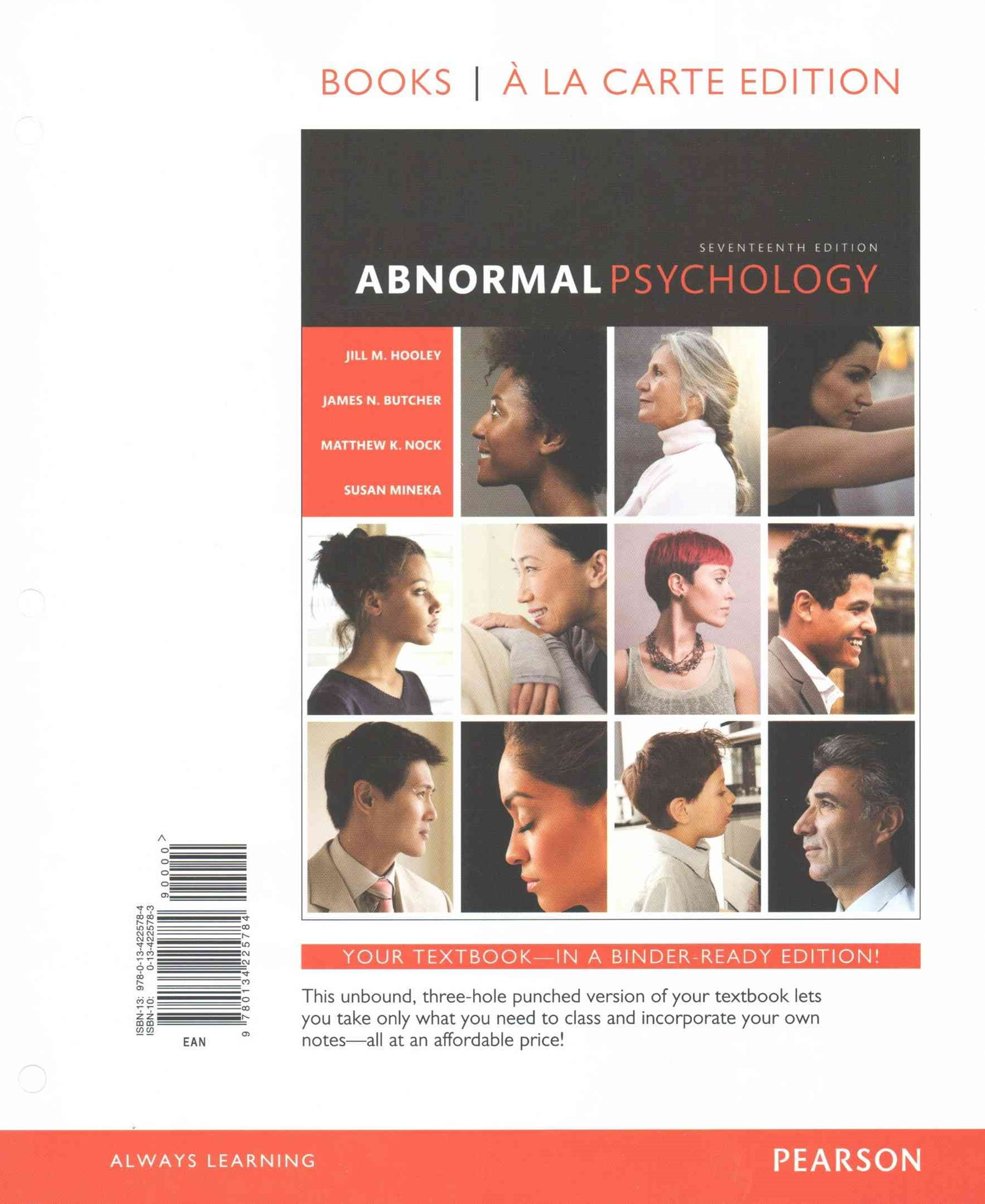 Abnormal Psychology, Book a la Carte Plus NEW MyPsychLab -- Access Card Package