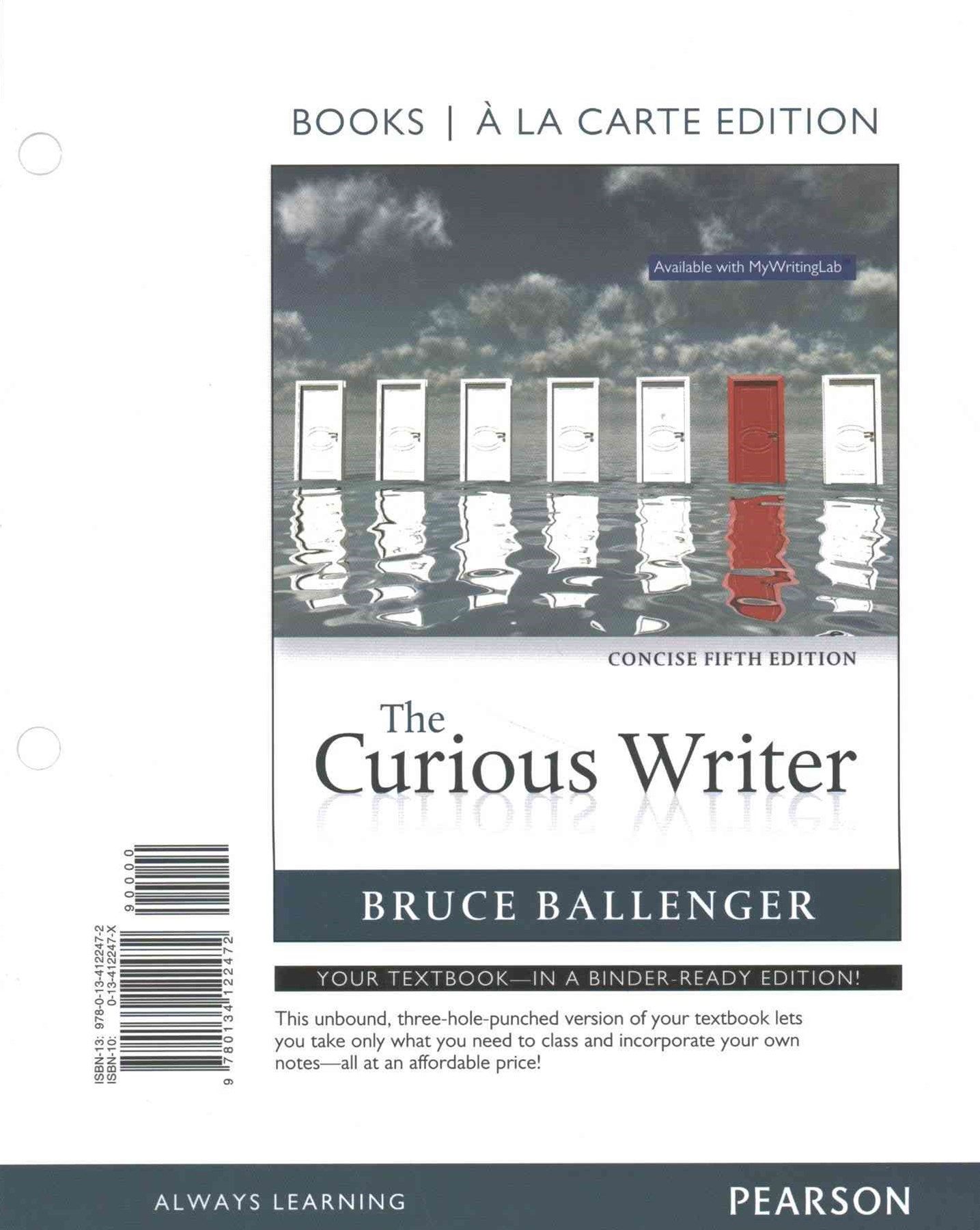 The Curious Writer, Concise Edition, Books a la Carte Plus REVEL -- Access Card Package