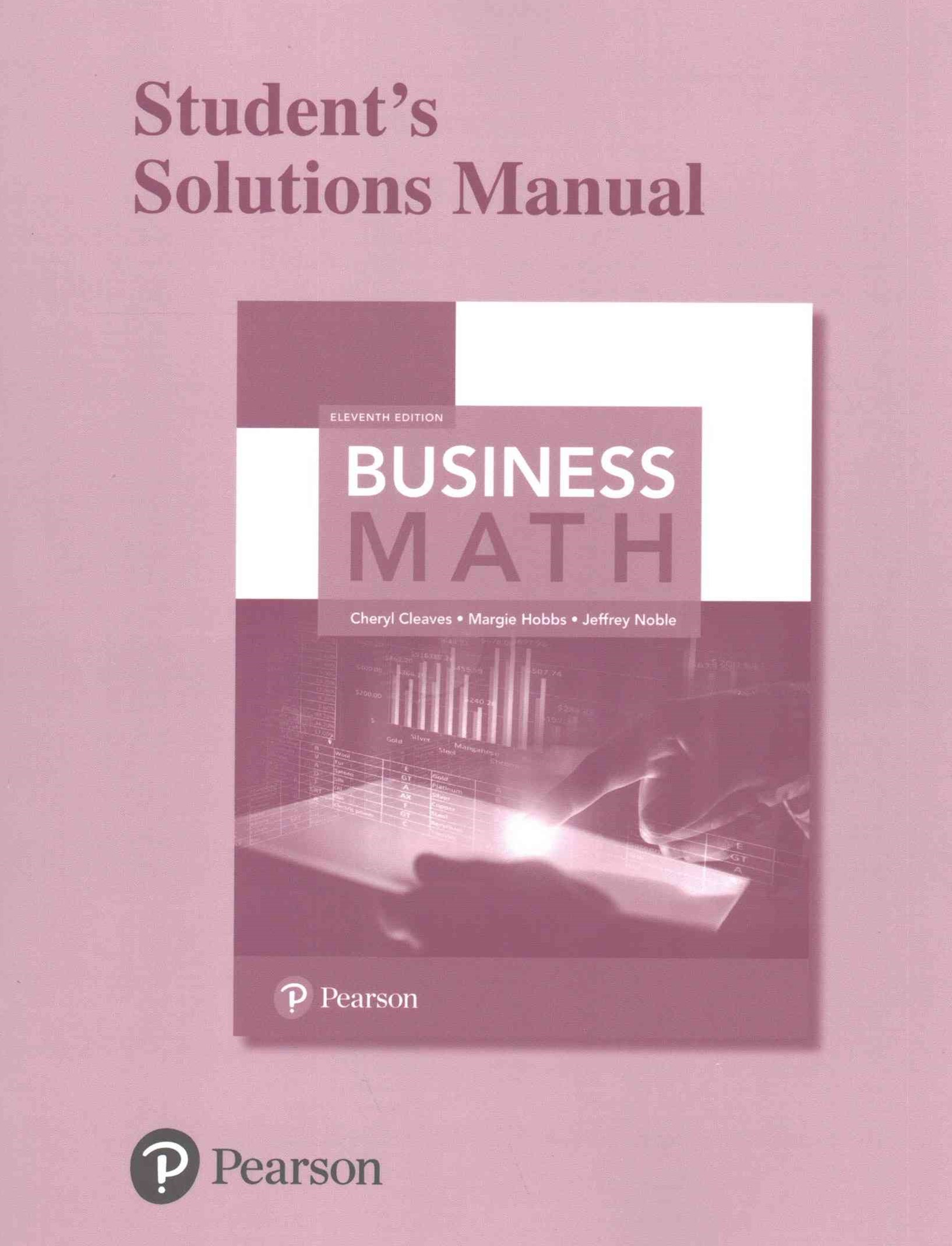 Student Solutions Manual for Business Math