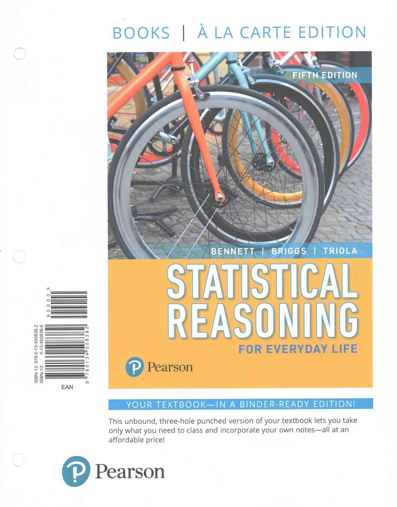 Statistical Reasoning for Everyday Life, Books a la Carte Edition