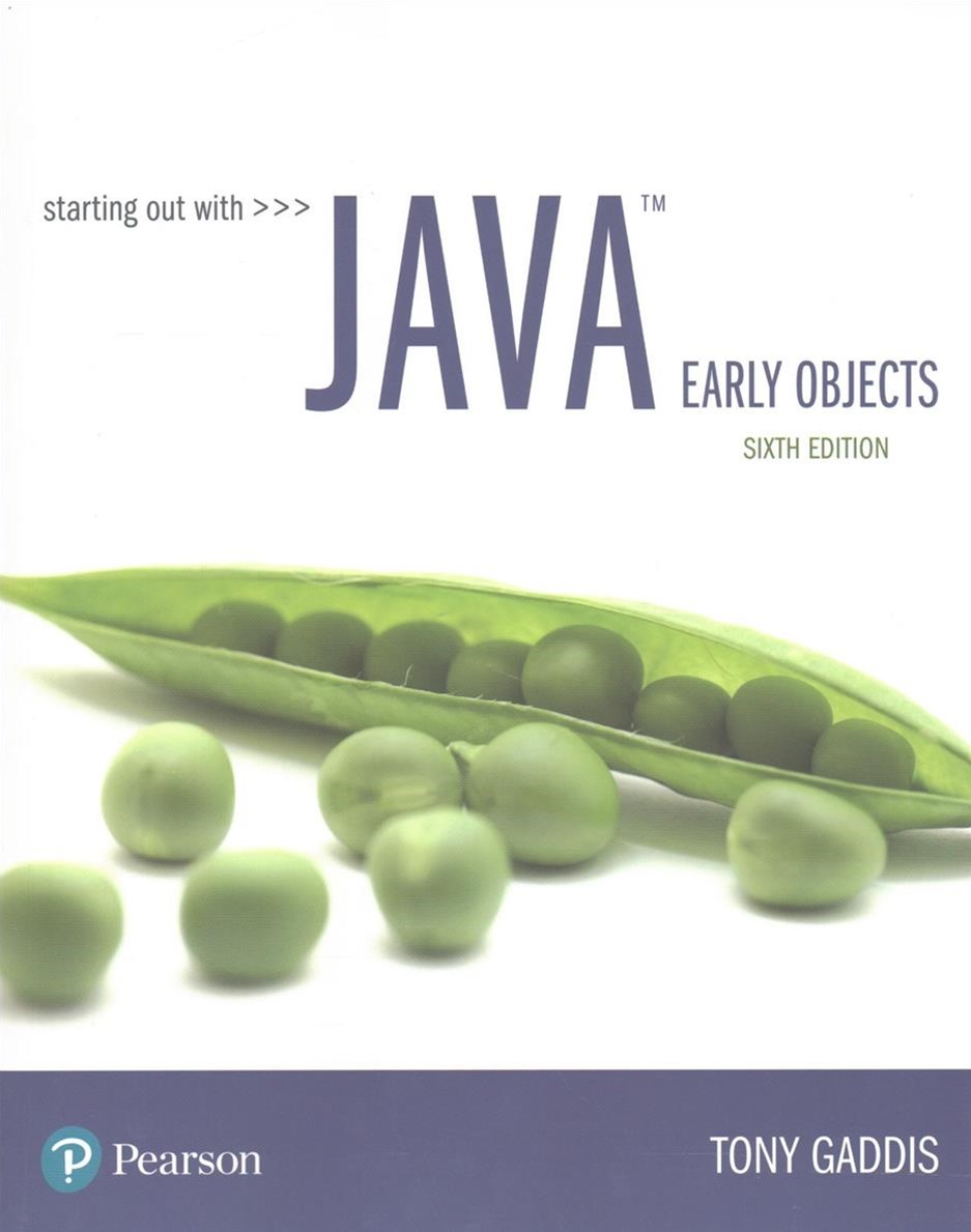 Starting Out With Java + Myprogramminglab With Pearson Etext