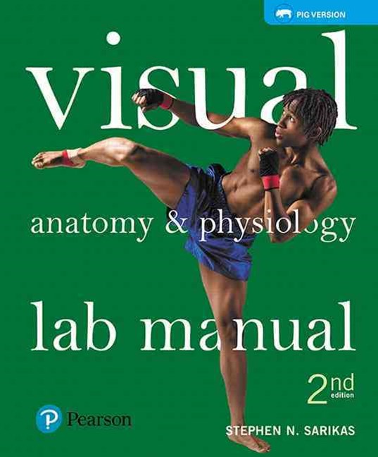 Visual Anatomy and Physiology Lab Manual, Pig Version Plus MasteringA&P with EText -- Access Card P