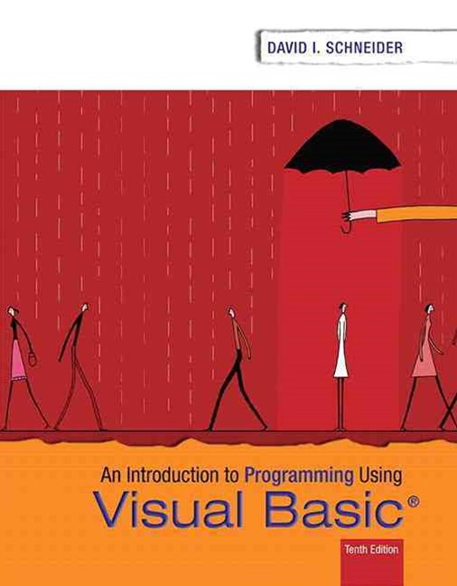 Introduction to Programming Using Visual Basic Plus MyProgrammingLab with Pearson EText -- Access Card Package