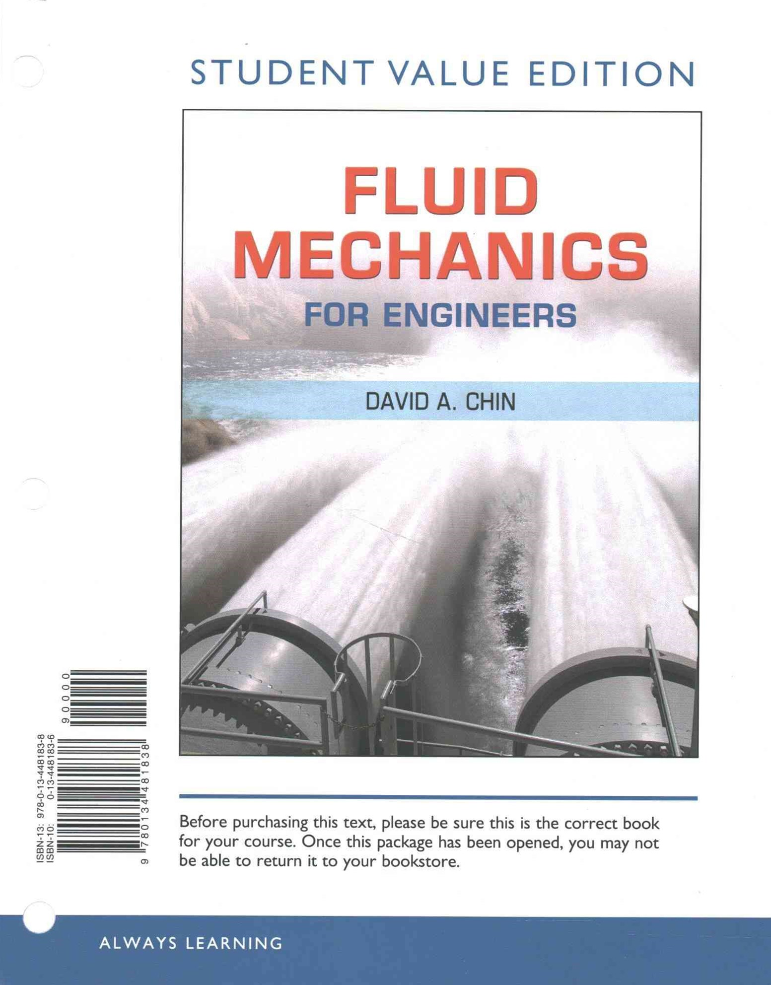 Fluid Mechanics for Engineers, Student Value Edition Plus MasteringEngineering with Pearson EText -