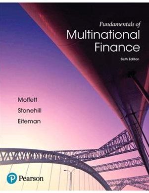 Fundamentals of Multinational Finance + Myfinancelab With Pearson Etext