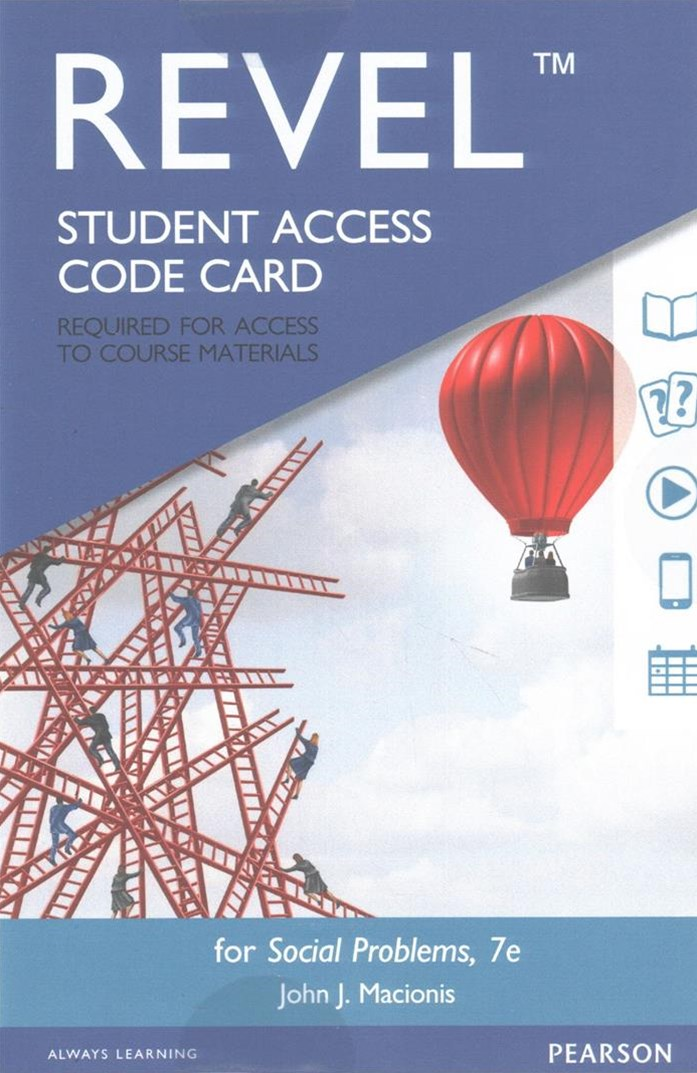 REVEL for Social Problems -- Access Card
