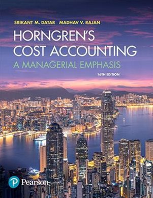 Horngren's Cost Accounting, Student Value Edition Plus MyAccountingLab with Pearson EText -- Access Card Package
