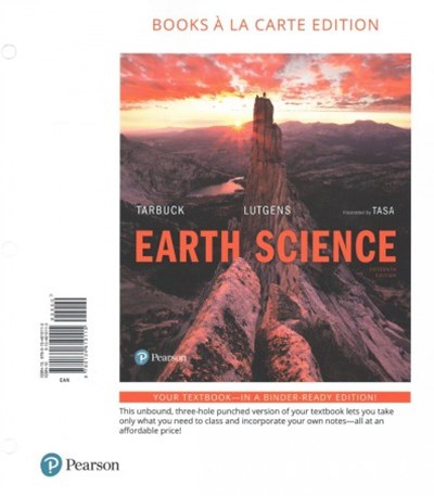 Earth Science, Books a la Carte Plus MasteringGeology with EText -- Access Card Package