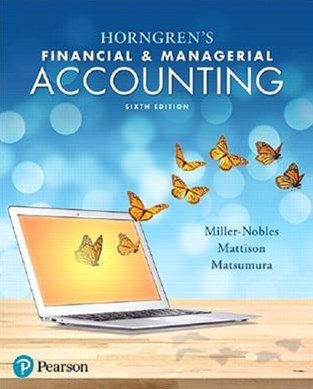 Horngren's Financial and Managerial Accounting Plus MyAccountingLab with Pearson EText -- Access Ca