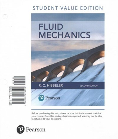 Fluid Mechanics + Masteringengineering With Pearson Etext Access Card