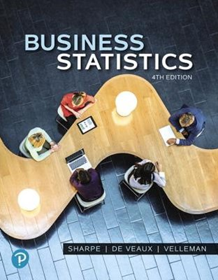 Business Statistics + Mylab Statistics With Pearson Etext Access Card