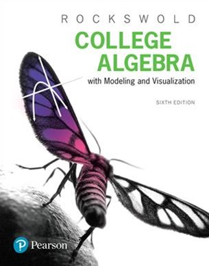 Mymathlab With Pearson Etext Standalone Access Card for College Algebra + Modeling & Visualization
