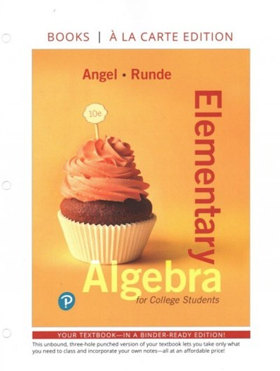 Elementary Algebra for College Students + Mymathlab Access Card