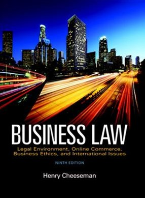 Business Law + 2017 Myblawlab With Pearson Etext Access Card