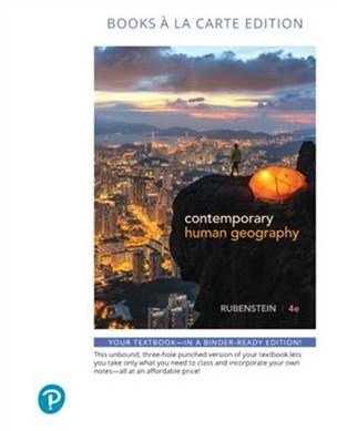 Contemporary Human Geography Plus Masteringgeography Access Card Package