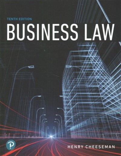 Business Law + Mybusinesslawlab With Pearson Etext Access Card