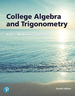College Algebra and Trigonometry Plus Mymathlab Access Card Package