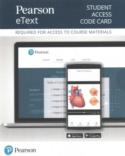 Pearson eText Get Fit, Stay Well! Access Card