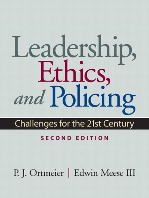 Leadership, Ethics and Policing