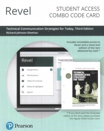 Revel for Technical Communication Strategies for Today Combo Access Card