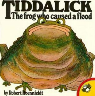 Tiddalick The Frog Who Caused A Flood by Robert Roennfeldt (9780140503494) - PaperBack - Children's Fiction