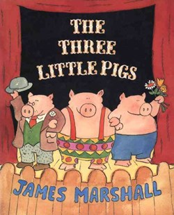 The Three Little Pigs by James Marshall (9780140557428) - PaperBack - Children's Fiction Intermediate (5-7)