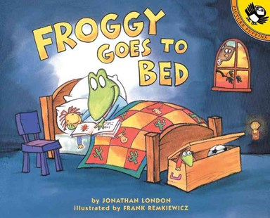 Froggy Goes to Bed by Jonathan London, Jonathan London, Frank Remkiewicz (9780140566574) - PaperBack - Children's Fiction Early Readers (0-4)