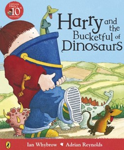 Harry and the Bucketful of Dinosaurs by Ian Whybrow, Adrian Reynolds (9780140569803) - PaperBack - Children's Fiction