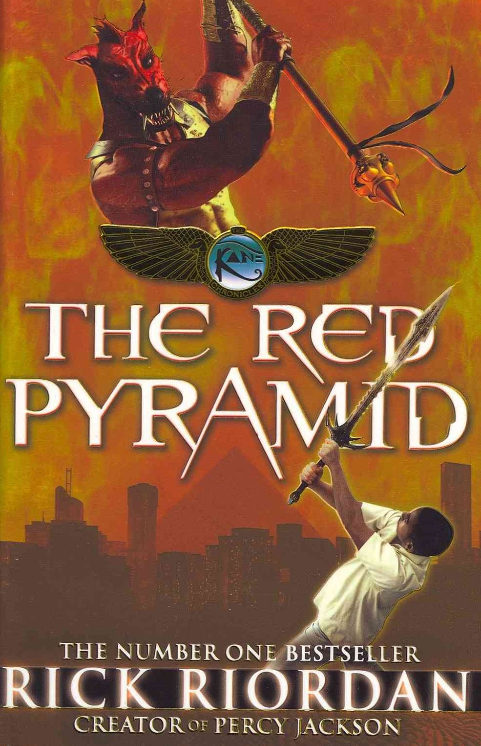 The Red Pyramid (Kane Chronicles Book 1)