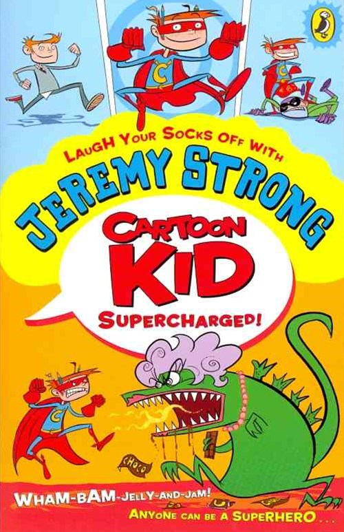 Cartoon Kid Supercharged!