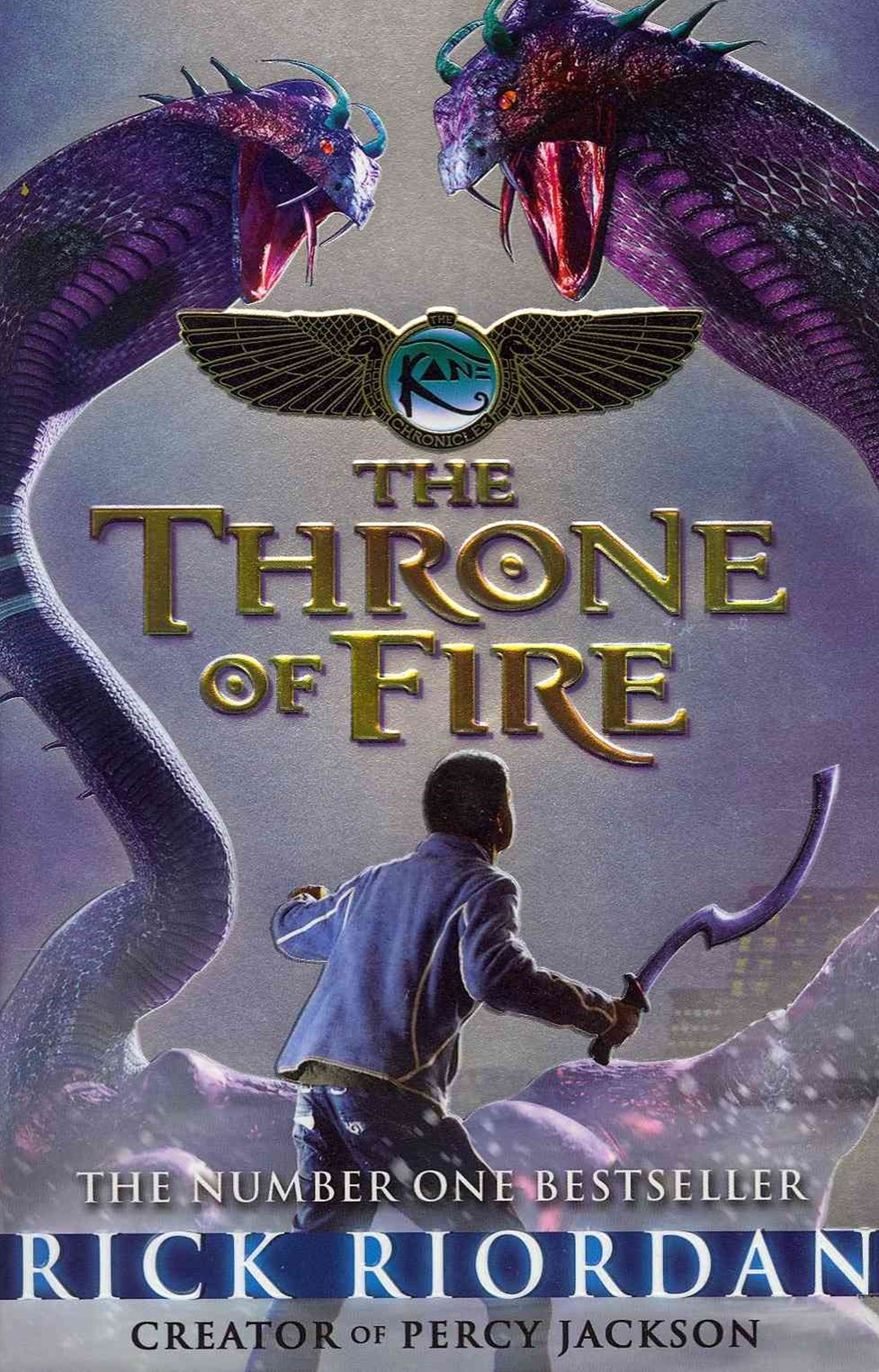 The Throne of Fire (Kane Chronicles Book 2)