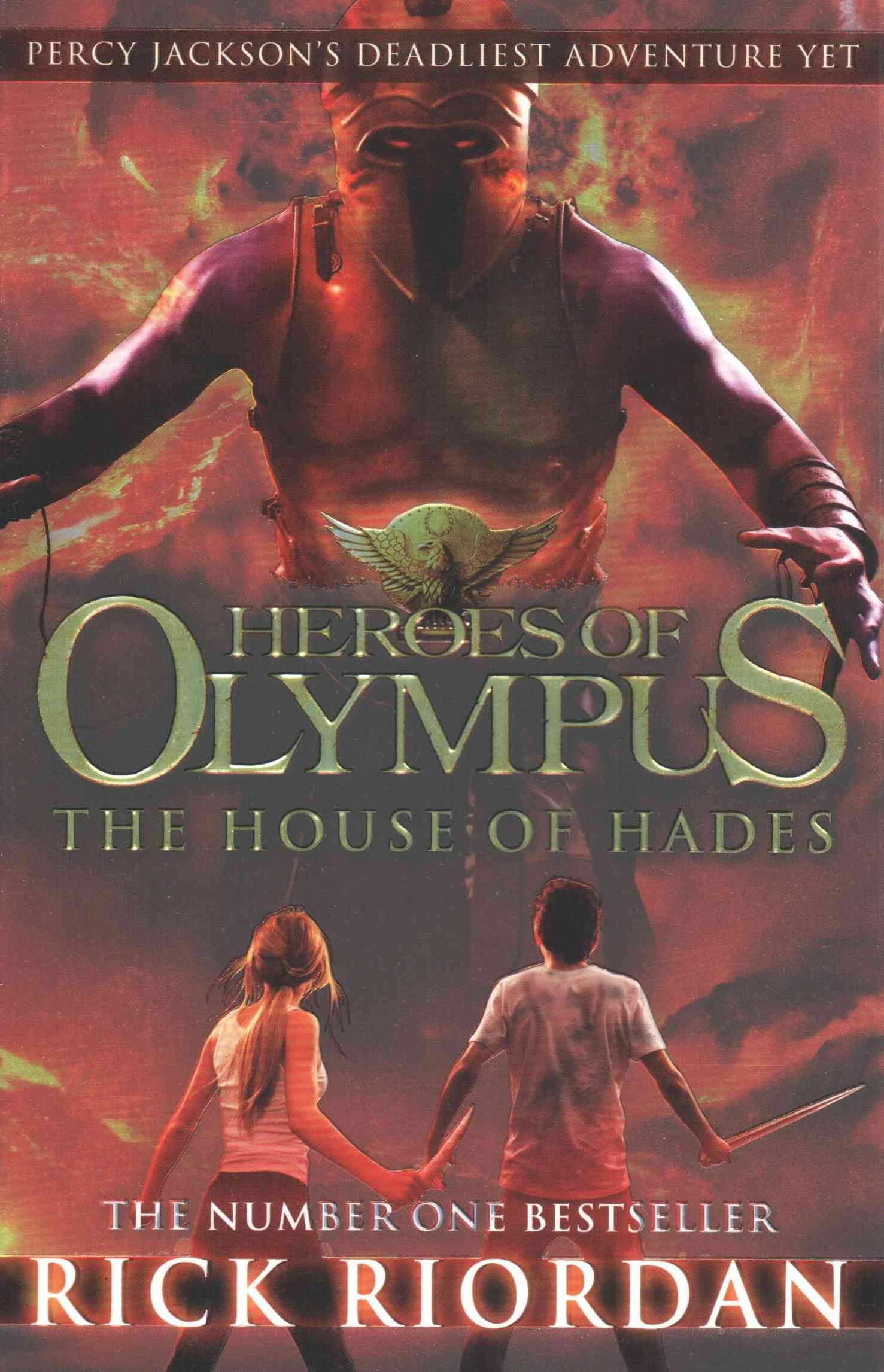 House Of Hades: Heroes Of Olympus (Book 4)