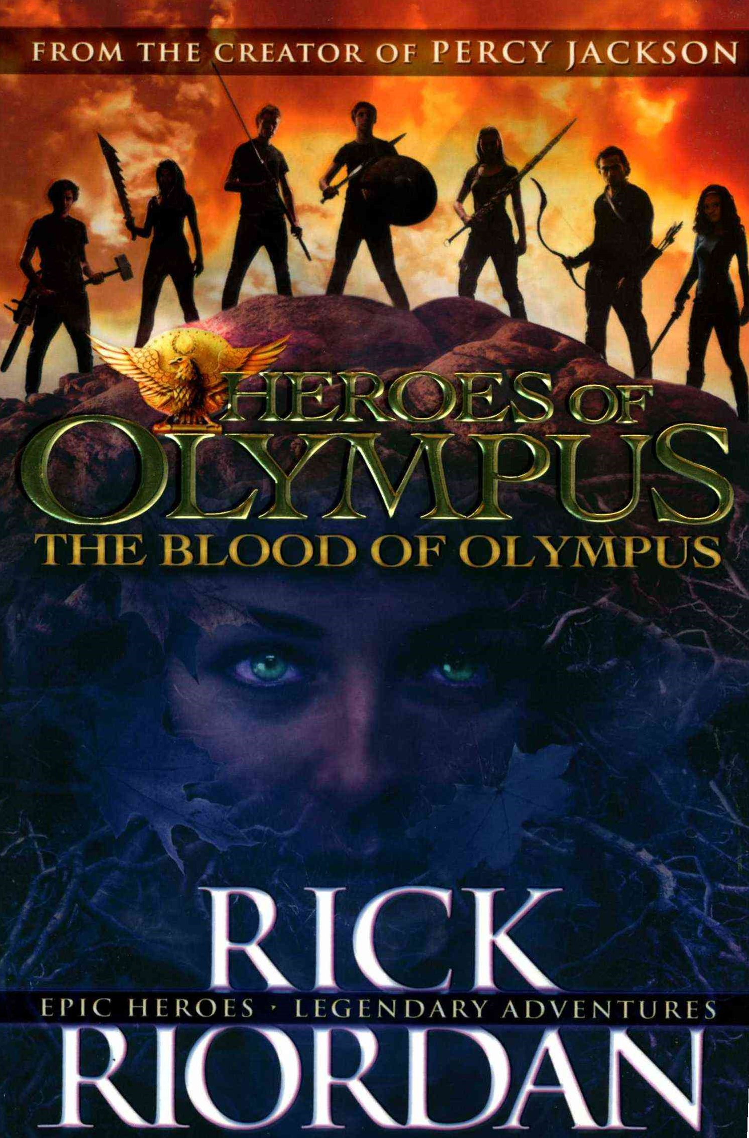 Blood Of Olympus: Heroes Of Olympus (Book 5)