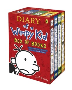 Diary of a Wimpy Kid - Box of Books - Children's Fiction