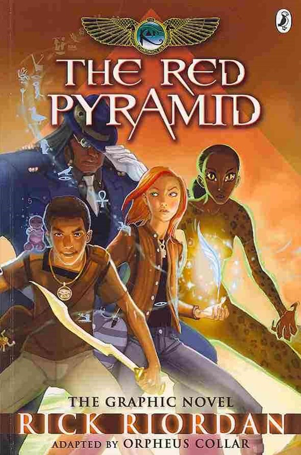 Red Pyramid: The Graphic Novel (The Kane Chronicles Book 1),The